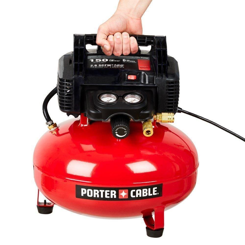 Porter Cable C2002 Oil Free Umc Pancake Compressor Pancake Air Compressor Pancake Compressor Best Portable Air Compressor