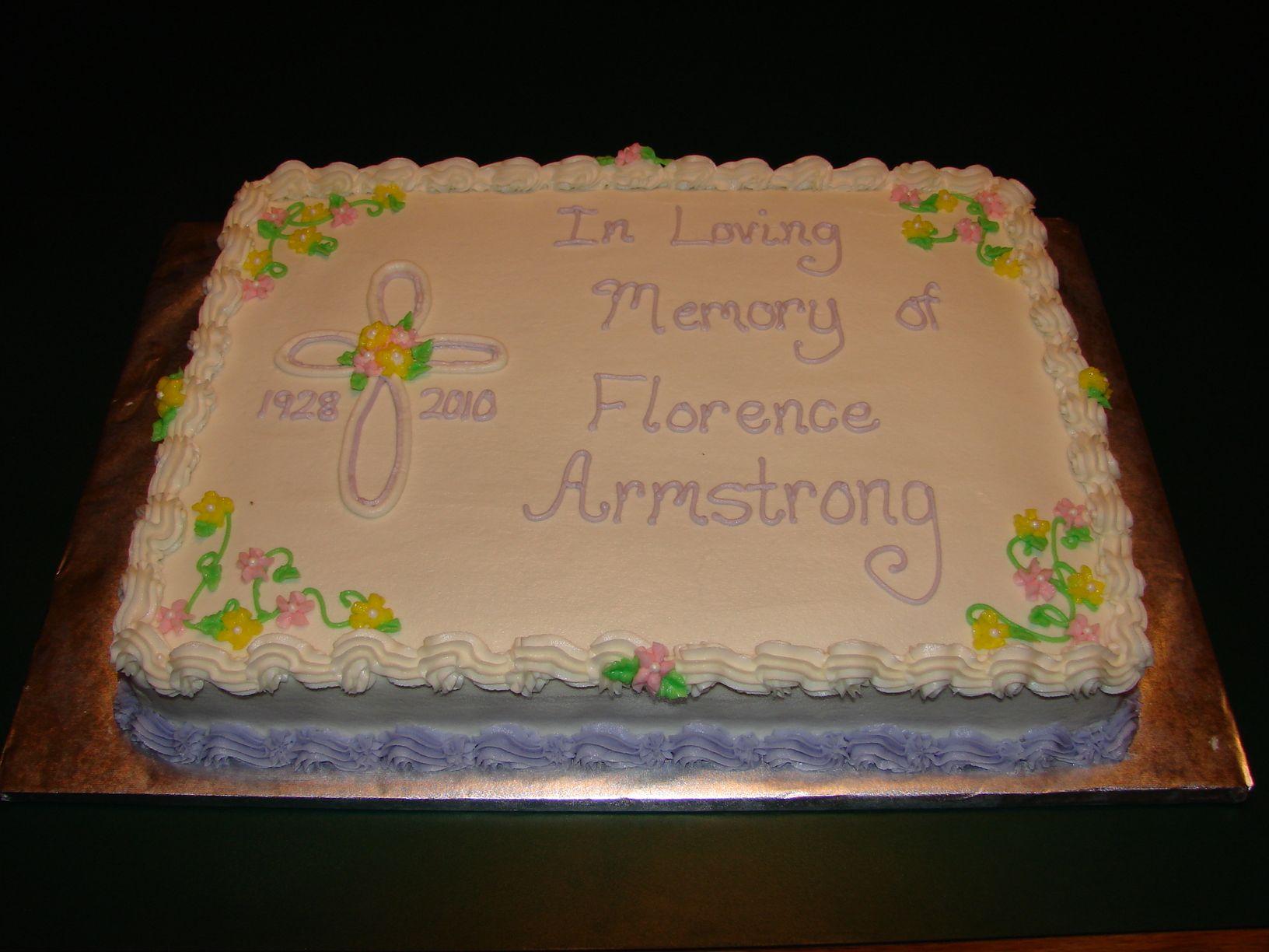Memorial Service Cakes Google Search Cake Funeral Cake Cake