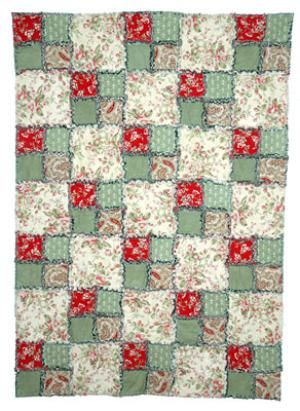 Make a Simple Double Four Patch Rag Quilt | Rag quilt, Easy ... : easy rag quilts - Adamdwight.com