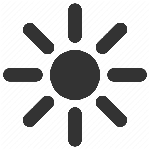 Brightness Light Sun Sunshine Weather Icon Download On Iconfinder Weather Icons Icon Sunshine Weather