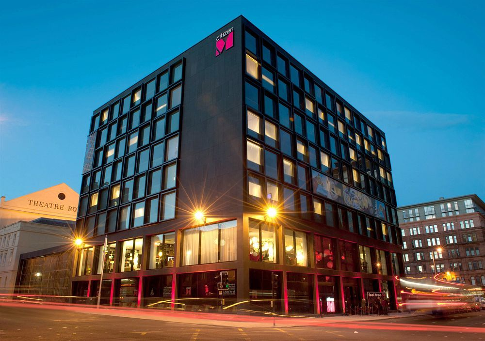 Located In Glasgow City Centre Citizenm Hotel Is Minutes From Theatre