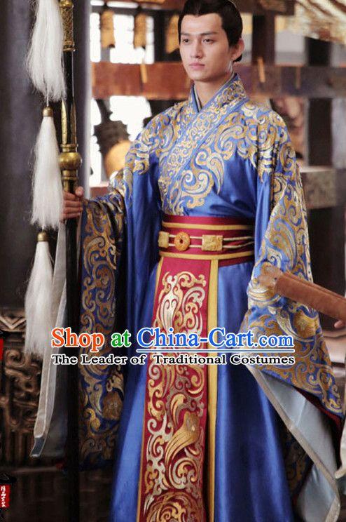 4ed038a6cd Chinese Prince Drama Performance Hanfu Festival Traditional Chinese Film  Dress Rental Garment