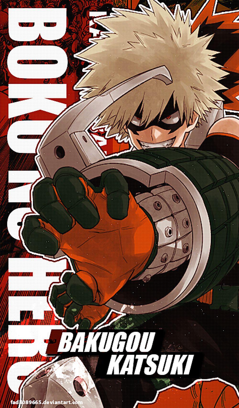 My Hero Academia Wallpapers Mobile Katsu Bakugo by
