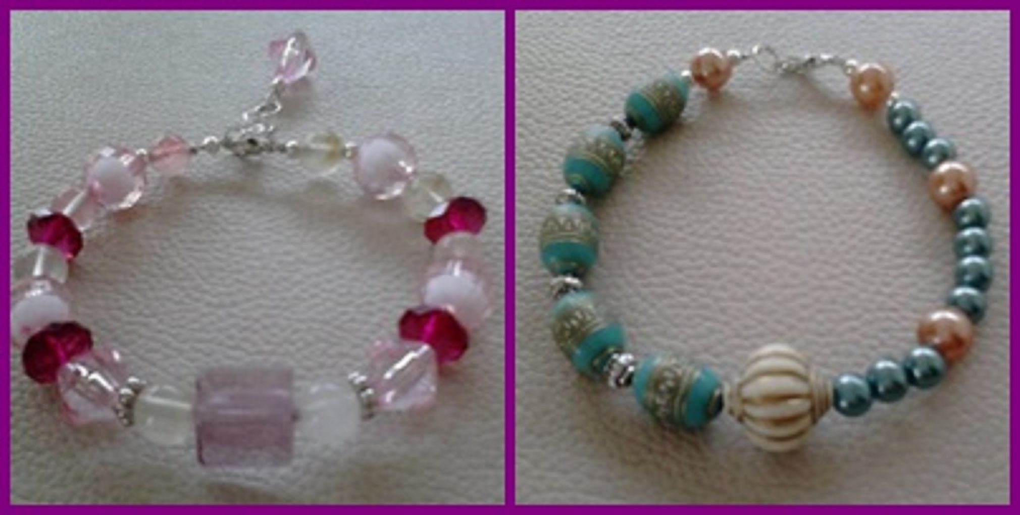 My handmade fashion bracelets