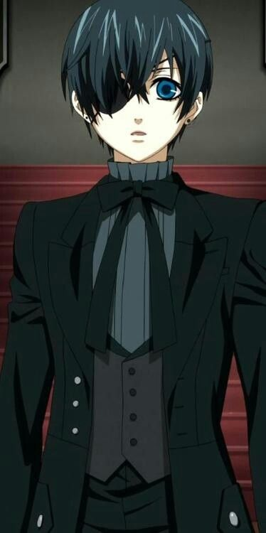 butler ciel anime phantomhive kuroshitsuji manga demon visit he ii