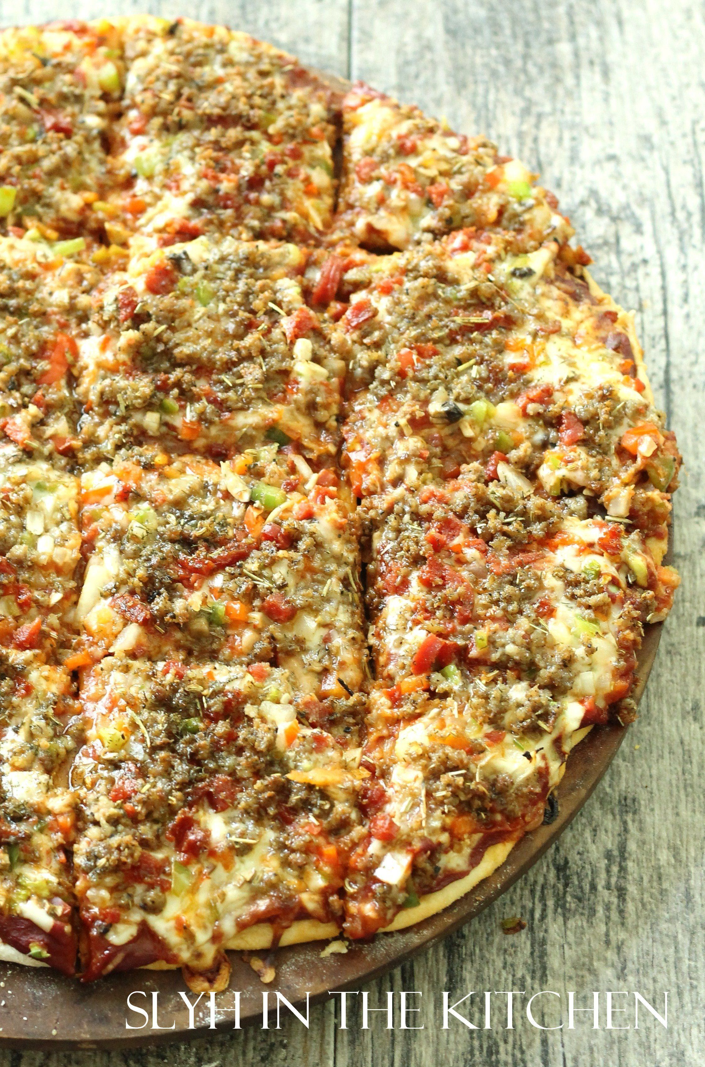 Royal Thin Crust Pizza @FoodBlogs