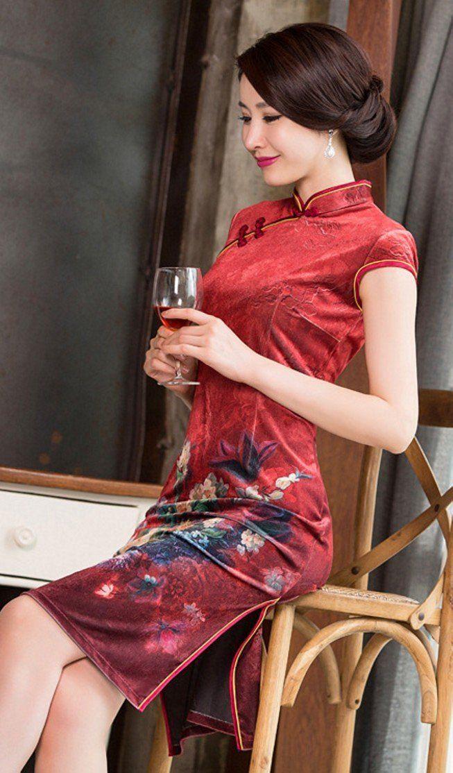 Robe chinoise sur amazone