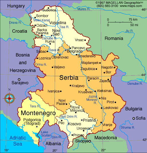 where is Serbia and Montenegro - Google Search | Kid\'s Study ...