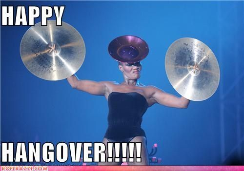 Just thank your lucky stars that Grace Jones didn't have an air horn.