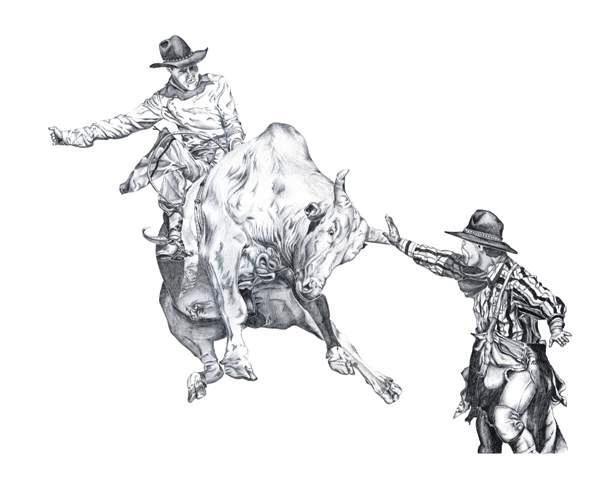 Bull Riding Drawings Dorris Designs Other Bucking Hunger
