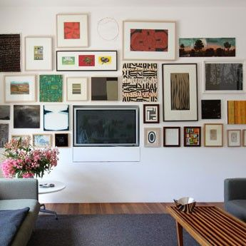 How to decorate around your flat screen TV   Vann's Online Electronics Blog
