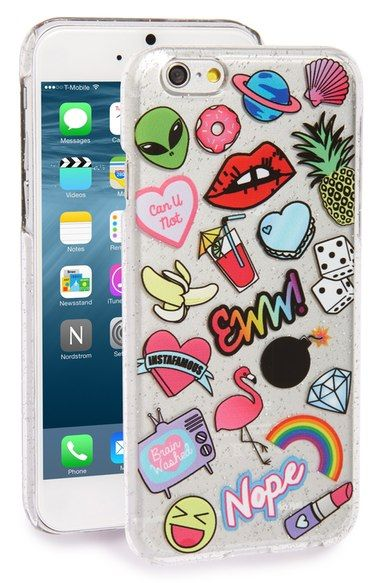 b3cbcaa10 Skinnydip 'Doodle' iPhone 6 & 6s Case available at #Nordstrom Fundas Para  Iphone