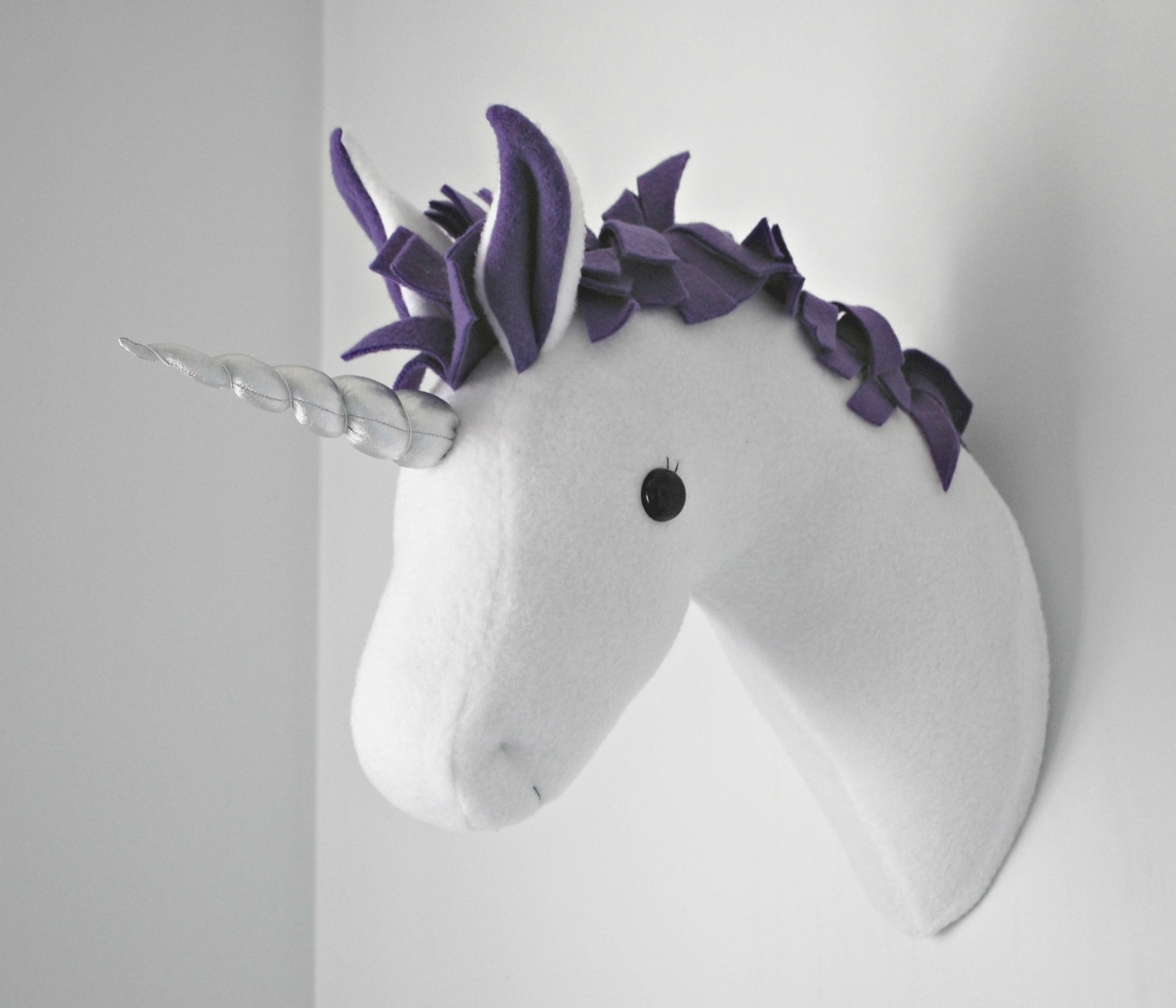 Wall mounted animal heads in fabric heathcliff horse horses coming soon plush taxidermy patterns amipublicfo Gallery