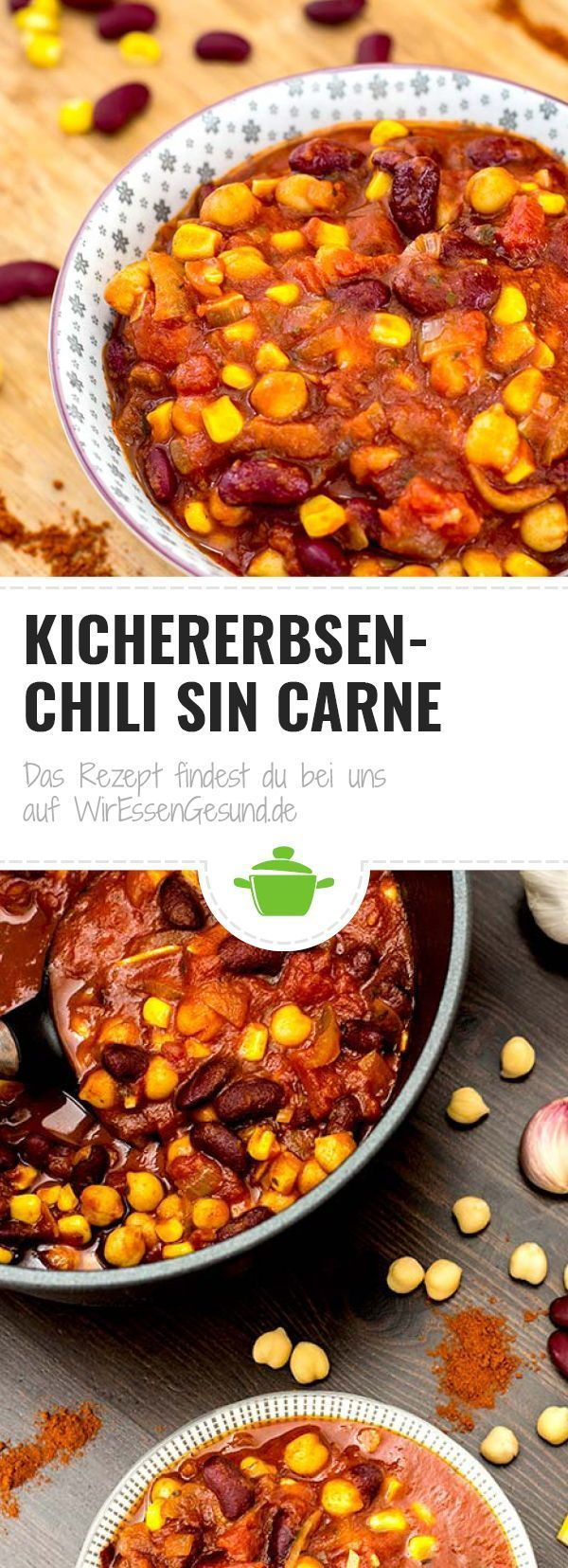 Kichererbsen Chili - WirEssenGesund
