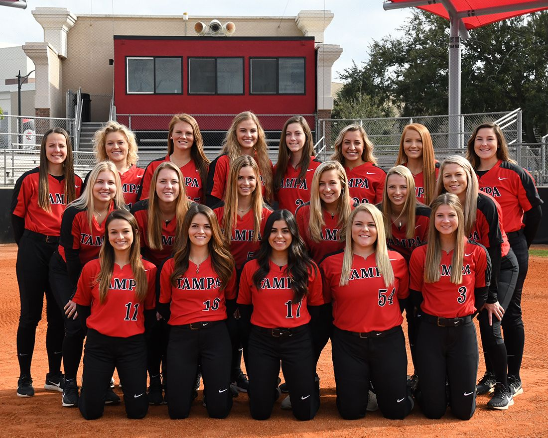 2019 Tampa Spartans Softball Roster University Of Tampa Athletics Spartans University Of Tampa Tampa