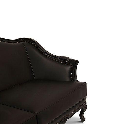 OTTAWA Samt Sofa Velvet Sofa Luxus Wohnzimmer Luxury living - esszimmer modern luxus