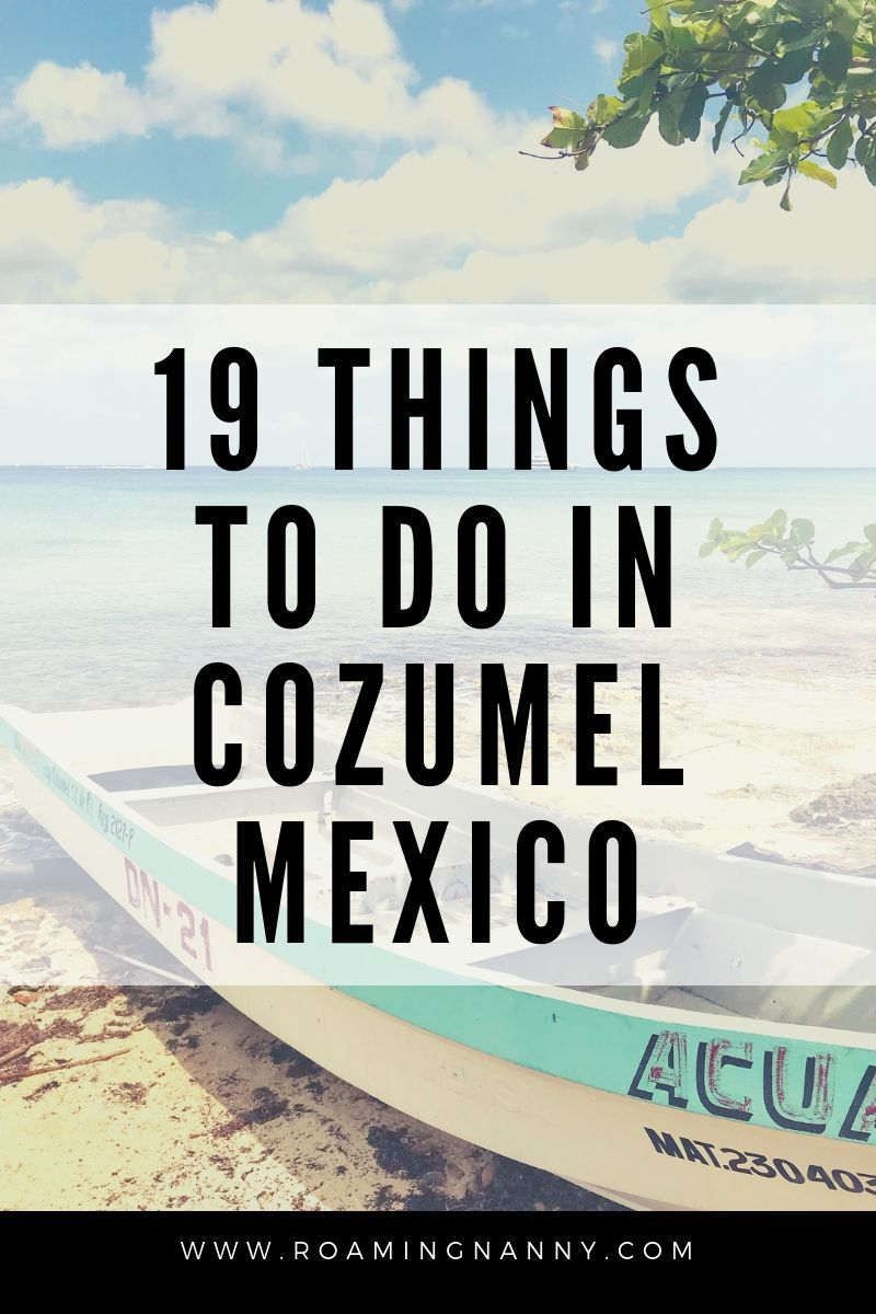 19 Things To Do In Cozumel Mexico S Island Paradise In 2020