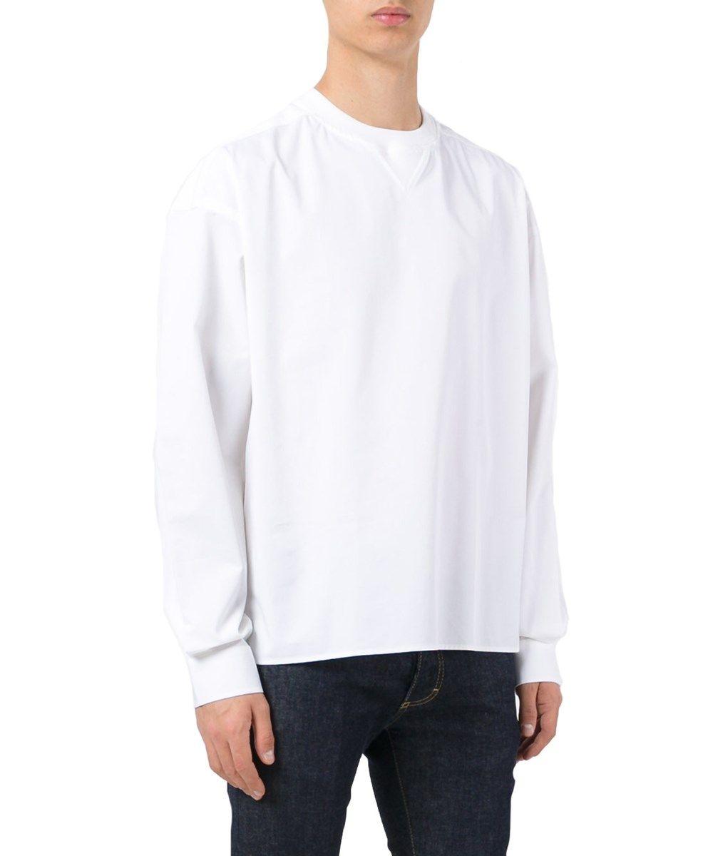DIESEL Diesel Black Gold Men'S 00Sx5Wbgcos7Ce White Cotton Sweater ...