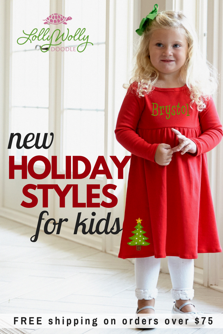 ec031215bfafd Lolly Wolly Doodle Christmas sets are too adorable to pass up. Our elegant  pant set with extreme ruffles includes red ribbon bows on each side with a  long ...