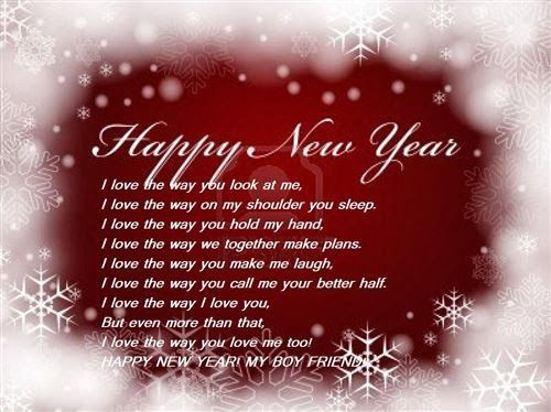 Happy New Year Poem | Love You Poems For Boyfriend | Quotes.lol Rofl