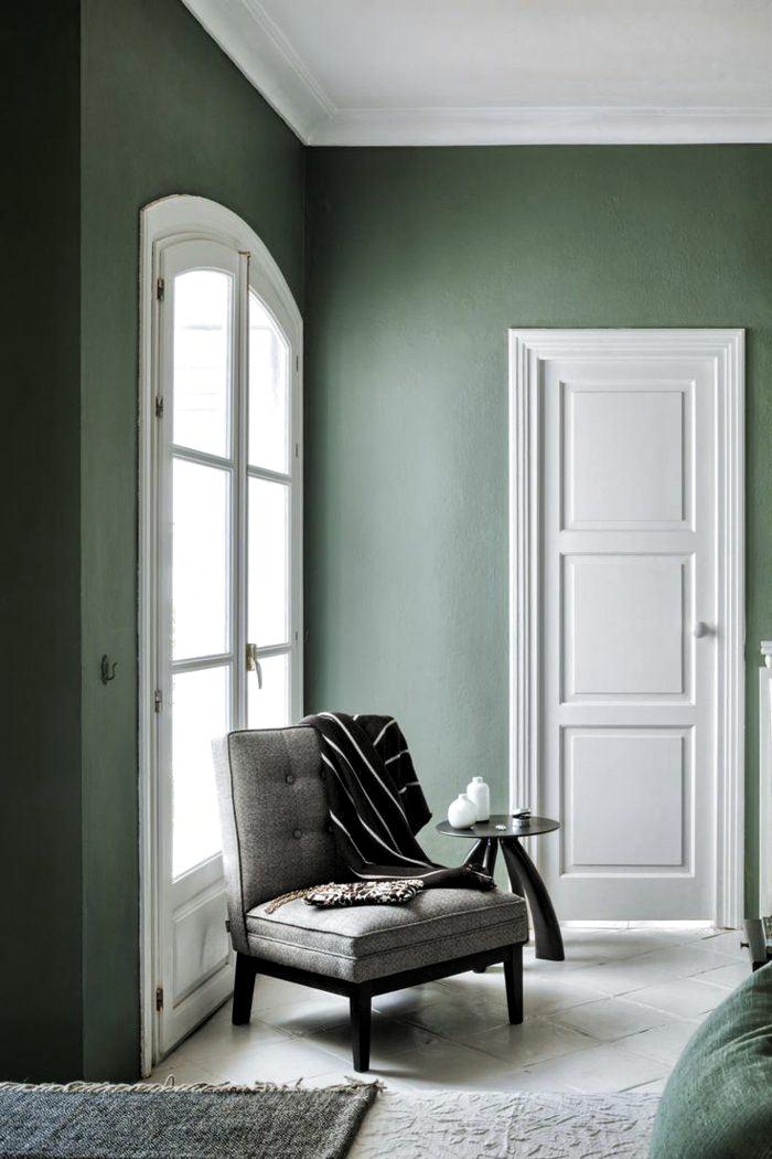 Photo of veggfarger møblering eksempler stueideer stueinnredning stueidee …