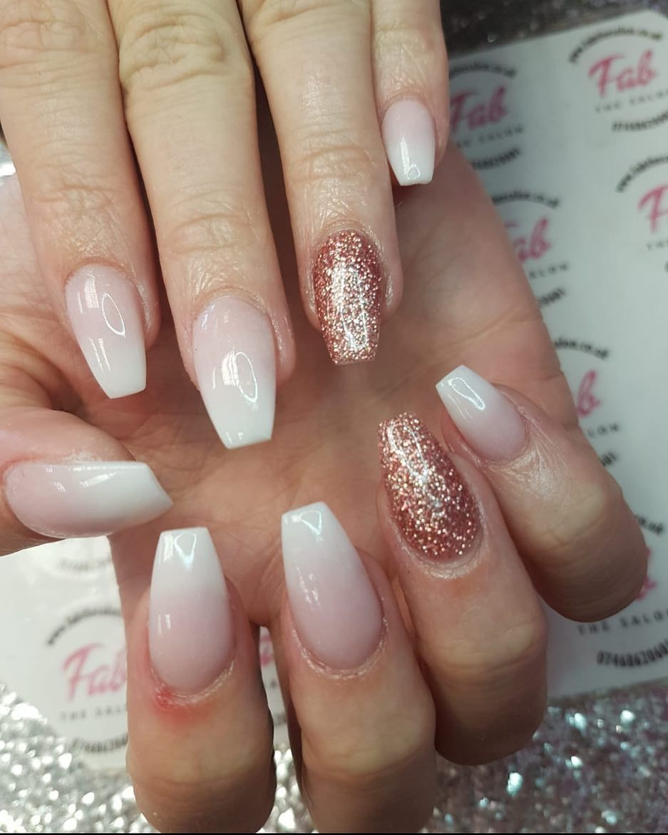10 Elegant Rose Gold Nail Designs: Breathtaking 42 Stunning Rose Gold Nail Art For Bride Http