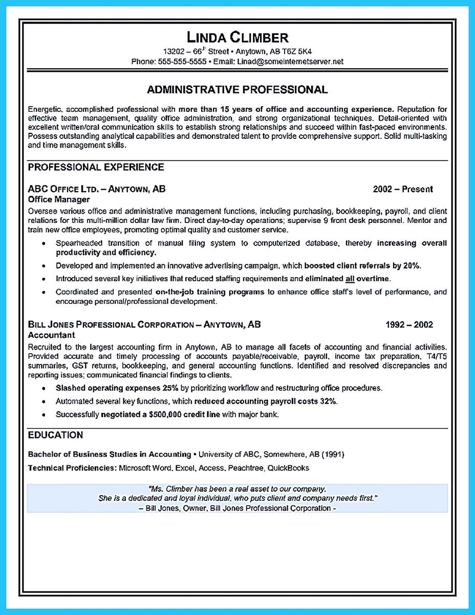 if you seek a job for administrative position  you need to