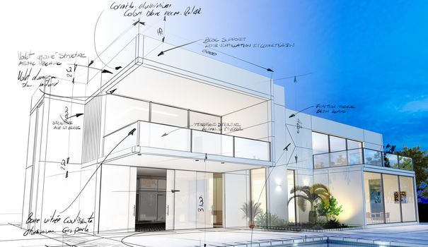 Construction maison  réaliser son projet en 5 points clés - budget pour construire une maison