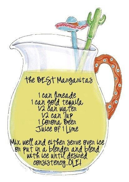 This looks like a good Margarita Recipe!