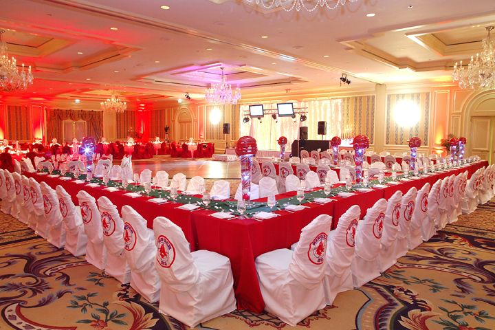 boston red sox was this teens favorite team! red and white personalized t-shirts acted as chair covers for the teen table and a diamond shaped gloss white dance floor took center position.    photo courtesy of gudenschwager photography