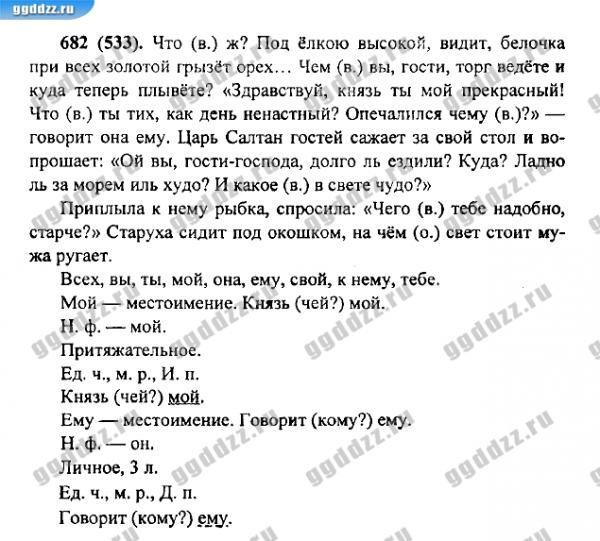 Гдз по русскому языку 6 класс spishy