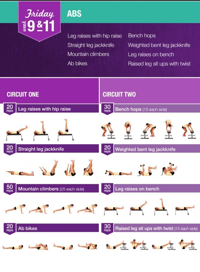 Friday 9&11 | kayla | Pinterest | Bikini body guide, Kayla itsines workout  and Fitness
