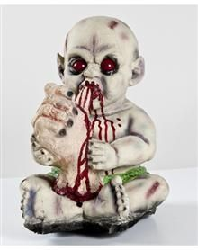 Halloween Zombie Baby Prop.Catalog Spree Thumb Sucker Zombie Baby Prop Spirit Halloween