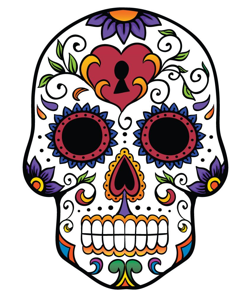 sugar skulls - Αναζήτηση Google | Tattoo Ideas | Pinterest | Sugar ...