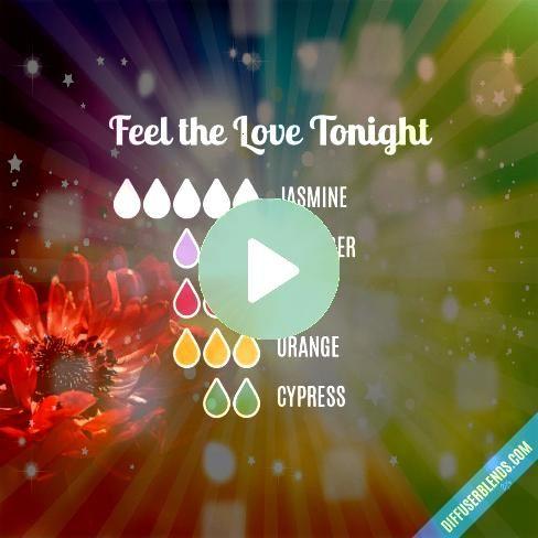 the Love Tonight Essential Oil Diffuser BlendFeel the Love Tonight Essential Oil Diffuser Blend Creative Energy  Essential Oil Diffuser Blend Blend Recipe 4 drops White F...