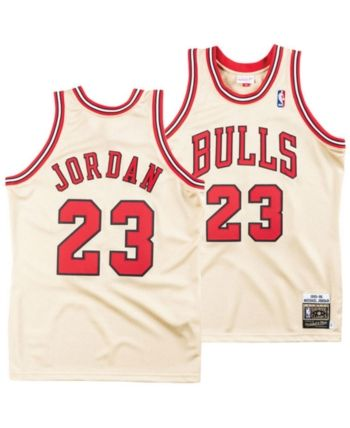 on sale 958d6 c74dc Mitchell & Ness Men Michael Jordan Chicago Bulls Authentic ...