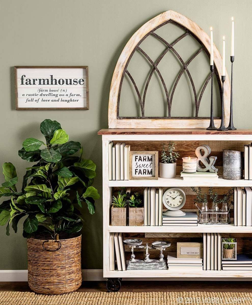 Hobby Lobby farmhouse decor Decor, Farm house living