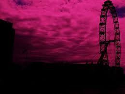 「pink sky」