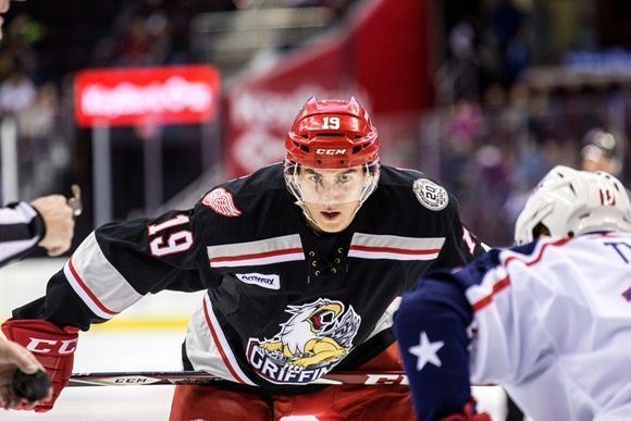 Detroit Red Wings minor league prospects pushed by veterans