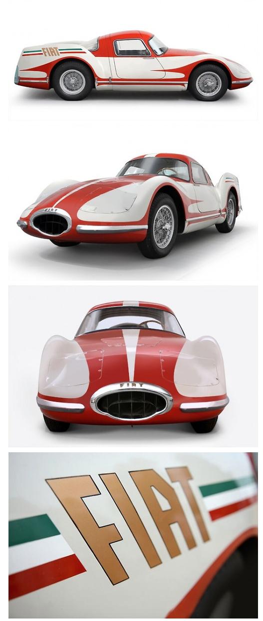 1954 Fiat Turbina Via The Italian Ways Cars Coches Autos