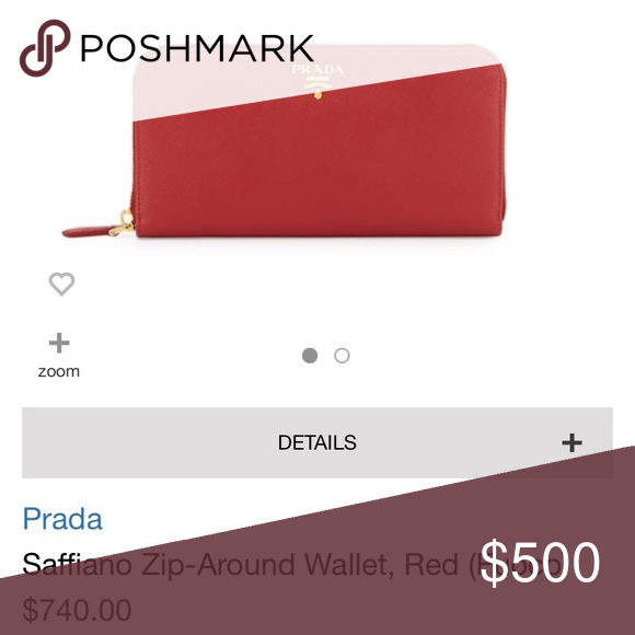3fbedd2b1535 ... hot shop womens prada pink red size os wallets at a discounted price at  poshmark.