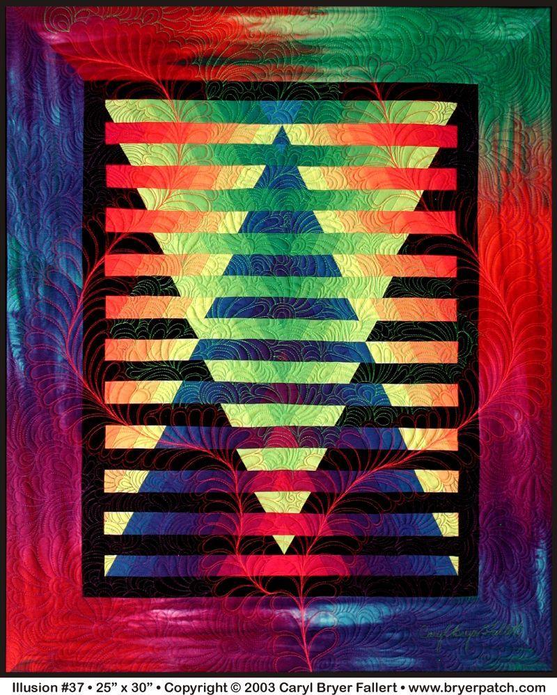 Caryl Bryer Fallert-Illusion Quilt | Inspiring Stuff