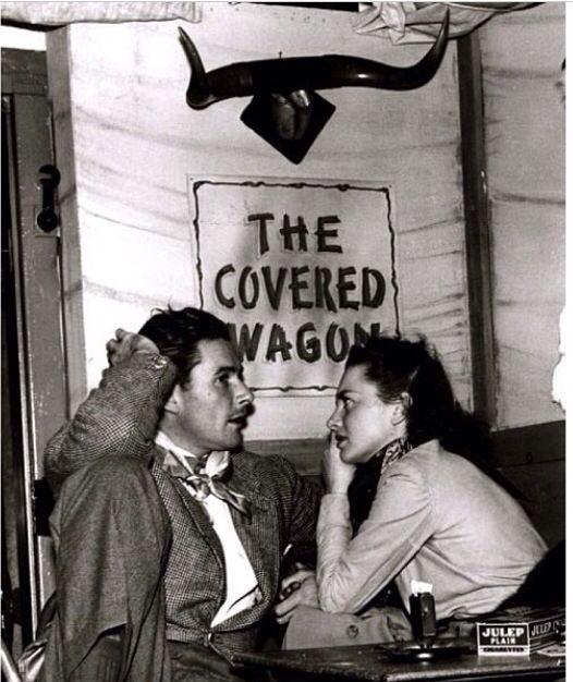 Errol Flynn and Olivia de Havilland, December 20, 1940.