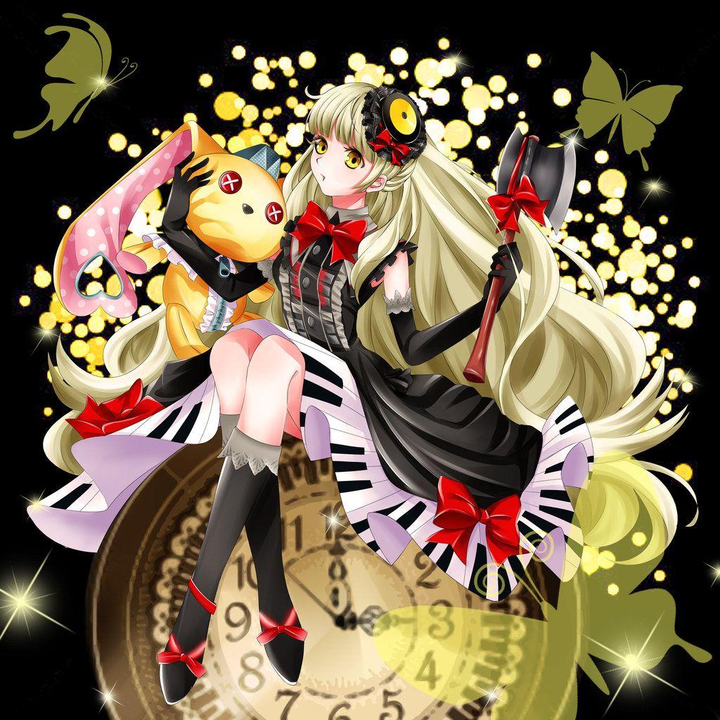 Mayu by BlackTeaDoll Vocaloid mayu, Vocaloid, Yandere anime