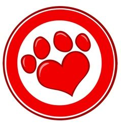 Download Love Paw Print Banner | Free vector illustration, Vector ...