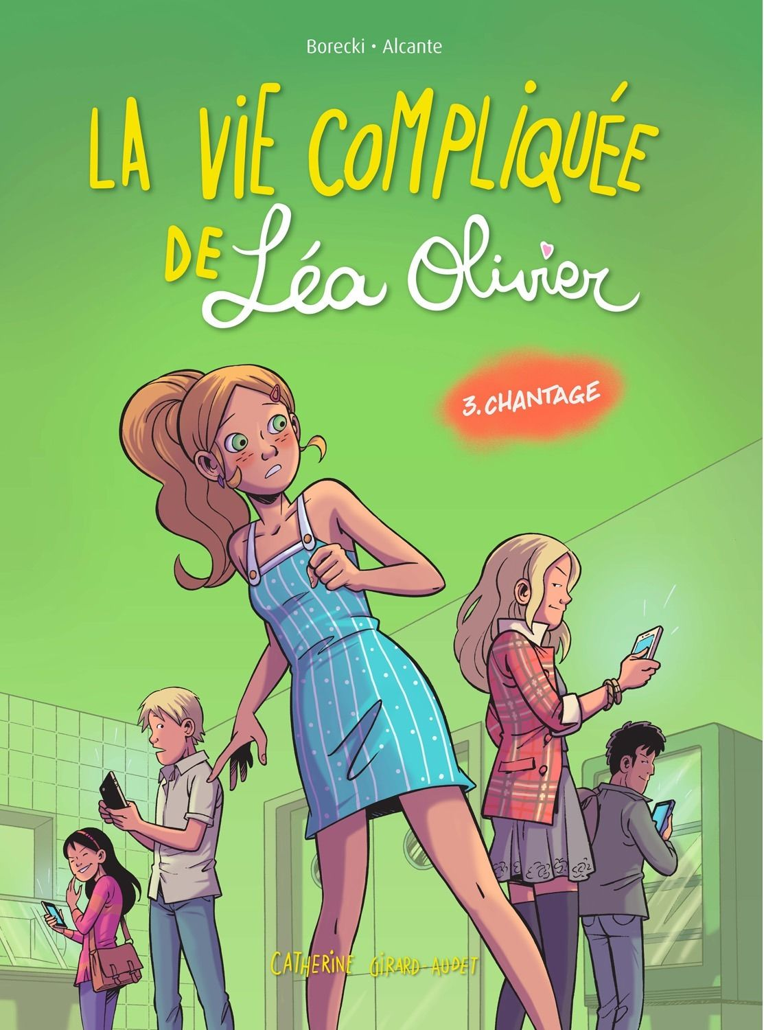 Chantage - Tome 3 - Catherine Girard-Audet - 56 pages