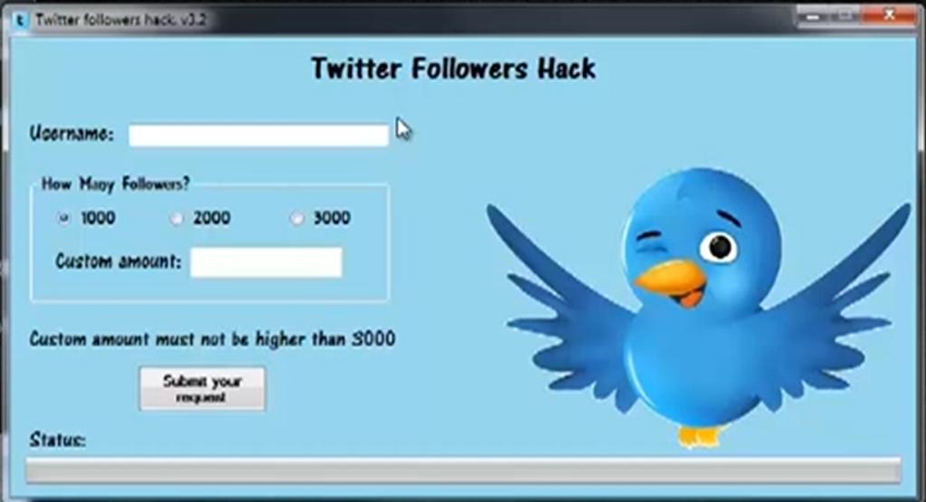 1000 free twitter followers no survey