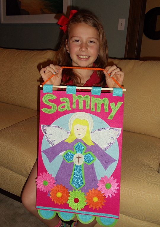 1st Communion Banner | Sammy Cakes Fun!