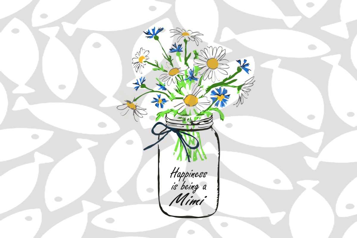 Happiness Is Being A Mimi Svg Mothers Day Svg Mothers Day Gift Gigi Svg Gift For Gigi Nana Life Svg Grandma Svg Fami In 2020 Flower Svg Grammy Gift Family Gifts