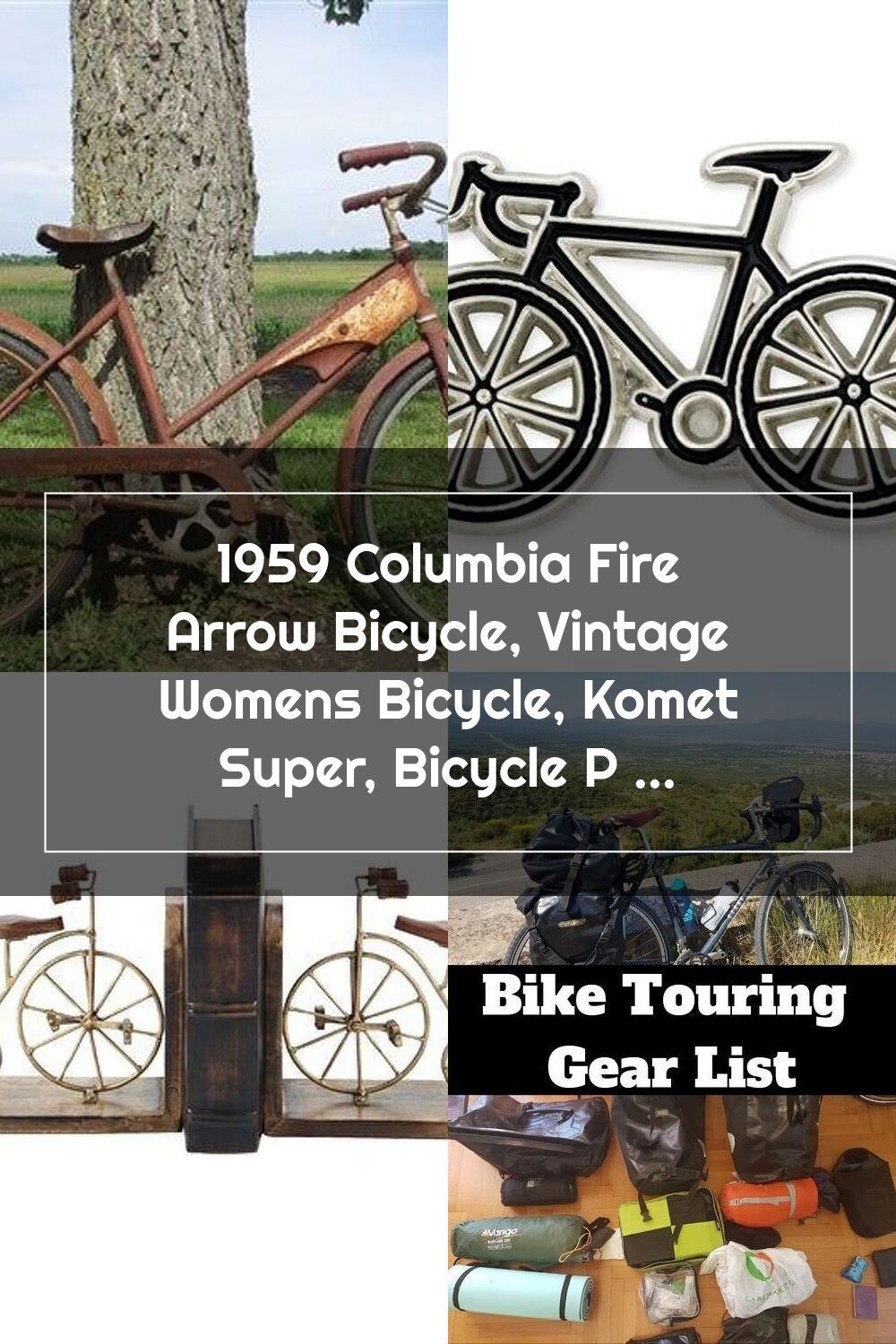 1959 Columbia Fire Arrow Bicycle Vintage Womens Bicycle Komet Super Bicy In 2020 Bicycle Women Bicycle Bike Touring Gear